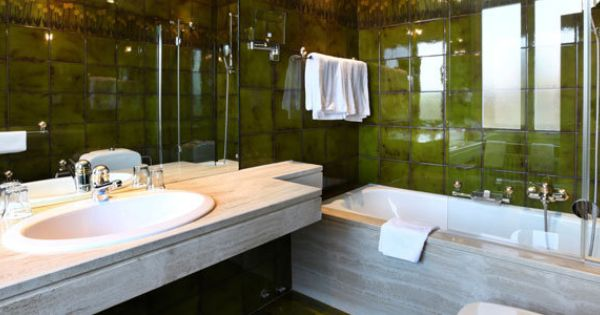 Bathroom Top Five And Green Tiles On Pinterest