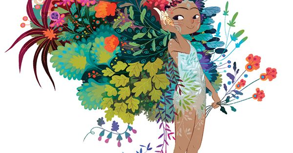 Character Design Magazine : Summer for bacanika magazine character design