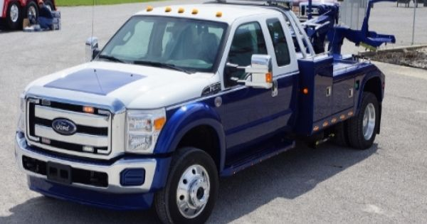 New 2014 Ford Wrecker F550 Super Cab Truck Tow Truck Small