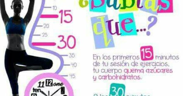 Sabias Que Fitness Facts Exercise Yoga Fitness