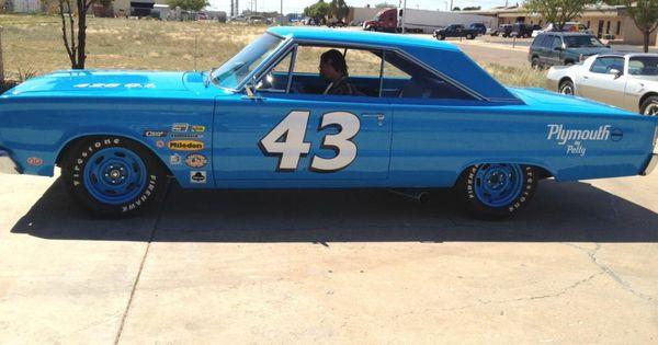 Richard Petty Cars by Year car tweet 1966 plymouth