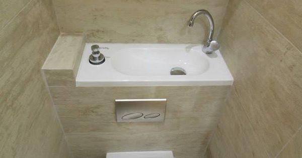 Des rangements et un lave main qui ne prend pas de place for Bureau qui ne prend pas de place