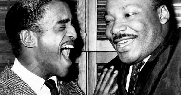 Sammy Davis Jr. and Dr. Martin Luther King Jr.
