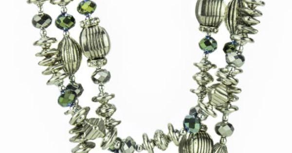 Soap Opera Jewelry has Maggie Horton's Multi-Strand Silver ...