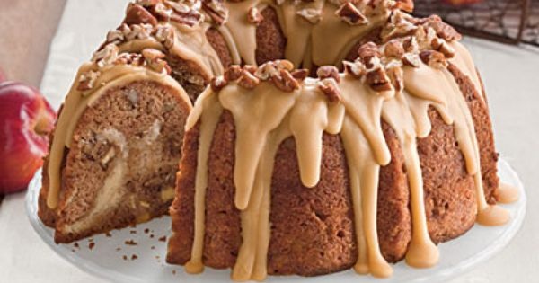 Apple Cream Cheese Bundt Cake ~Tempting Apple Dessert Recipes - Southern Living