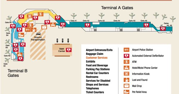 Car Rental Burbank Airport: Travel Tip: Knowing The Layout Of The Terminal You're