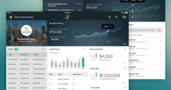 Insurance Agent Dashboard Continued