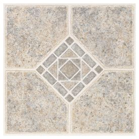 Shop Style Selections 1 Piece 12 In X 12 In Basil Peel And Stick Pattern Vinyl Tile At Lowes Com Vinyl Tile Peel And Stick Tile Peel And Stick Vinyl