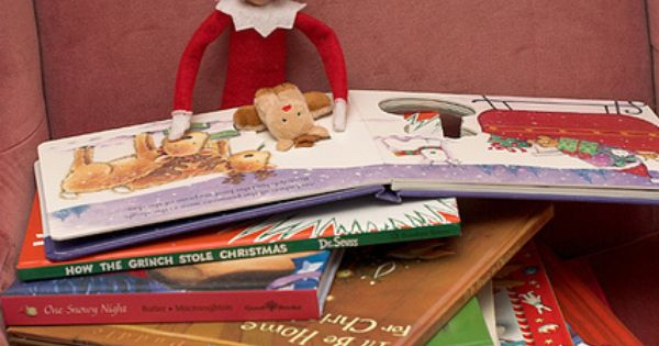Elf on the Shelf- book club