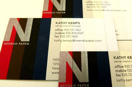 Classic Brands Business Cards Paperspecs Printing Business Cards Neenah Paper Business Card Branding