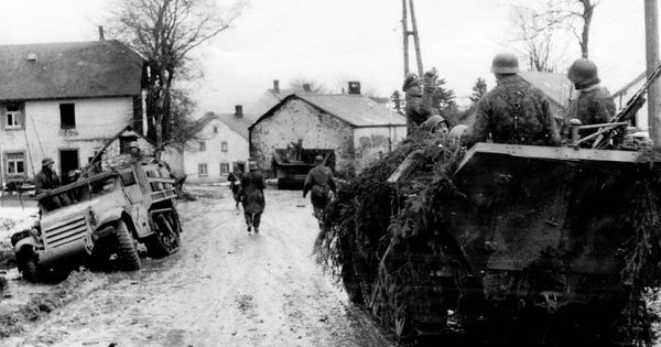 a history of the ardennes offensive in world war ii World war ii the world war ii ardennes-alsace: 16 december 1944 - 25 january 1945: at thispoint the allies were able to resume their offensive the us ii.