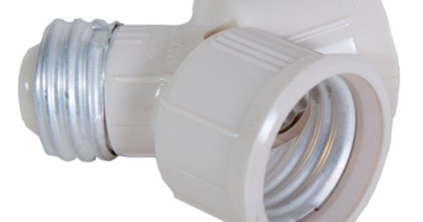 This Is Our Light Bulb Socket Splitter For Led Cfl And Standard Lightbulbs Why Install Another Socket When You Can Use Light Bulbs Light Bulb Led Light Bulbs
