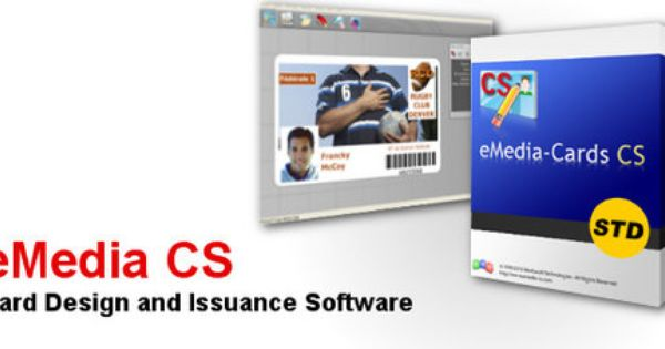Emedia Card Designer Standard Edition Connects To Database Spec Systems Durban Emedia Cs Is A Powerful Yet Easy To Use S Card Printer Card Design System