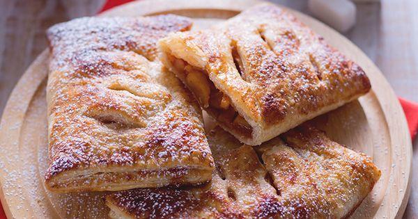Italian Sfoglia Cake Recipes: FAGOTTINI DI PASTA SFOGLIA CON RIPIENO DI MELE