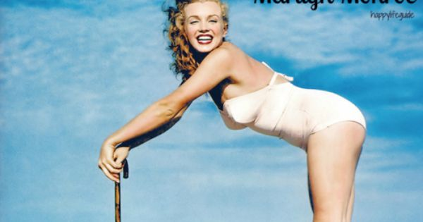 Marilyn Monroe - real women have curves