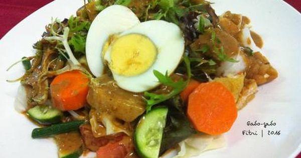 Resep Gado Gado Siram Saus Kacang Oleh Fitri Sasmaya Resep Resep Kacang Resep Masakan