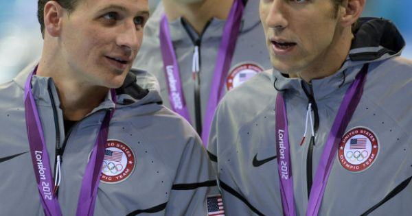Love my olympic swimmers! Ryan and Michael!