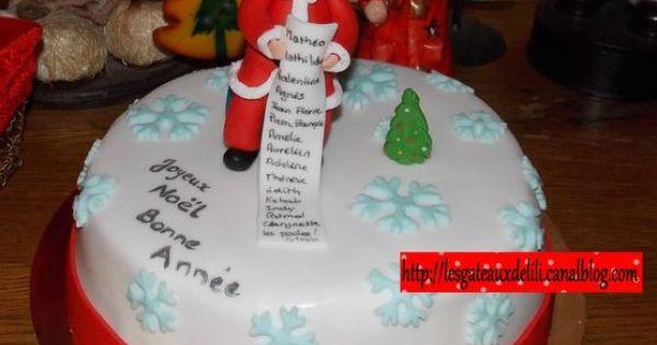 Le p re no l et sa liste de cadeaux mes g teaux de no l pinterest - Site de vente de cadeaux de noel ...