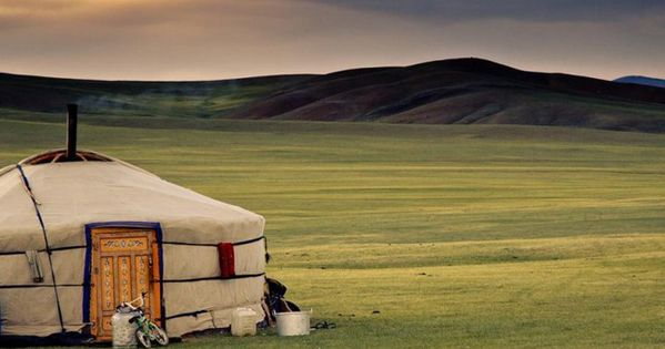 Add to bucket list, rent a yurt while on vaca