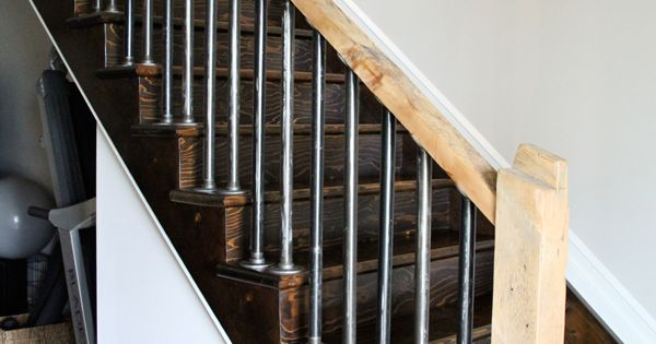 Iron Pipe Stair Railings And Rustic Rails Http