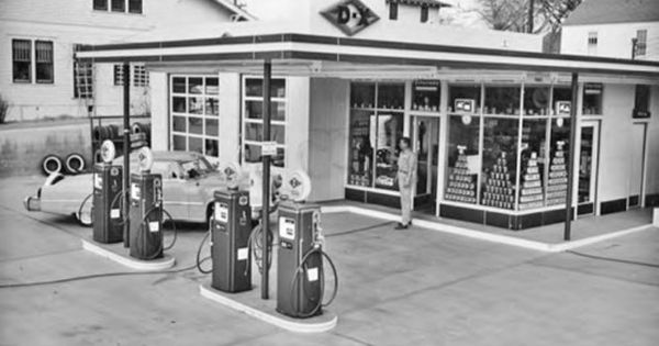 Dx Gas Station The Outsiders Pinterest Gas Pumps And