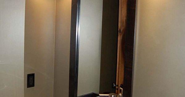 Ideas para ba os 1 toque original para tu lavabo - Cristales para banos ...