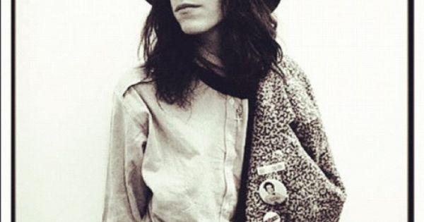 Patti Smith   Patti Smith   Pinterest   Patti d'arbanville, Love and ...