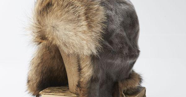 Frost Seal Skin Hat W Coyote Fur Www Feldur Is Sewing