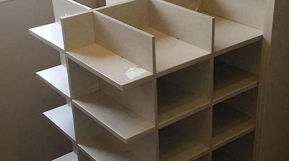 Zapatero extraible para modulo de armario espaceo - Armarios modulares leroy merlin ...