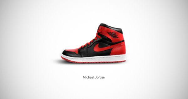 digitalartist #shoes #design #famous #MichaelJordan