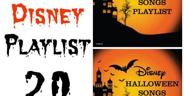 Free And Music Playlist: Free Disney Halloween Music Playlist: 20 Spooky Songs For