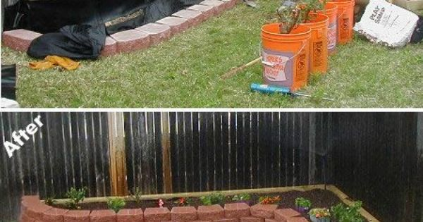 Do It Yourself Ideas Raised Flower Bed Herbs Gardens