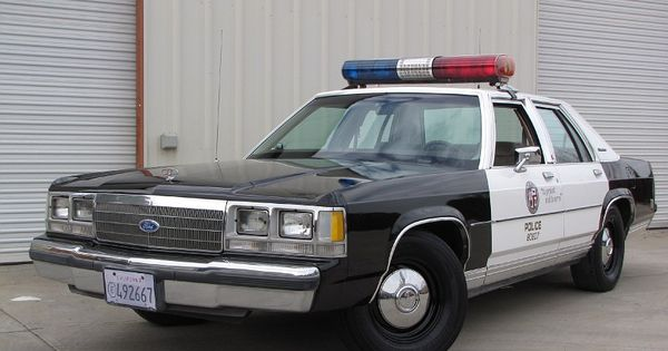 1980 S Police Cars 1988 1991 Ford Ltd Crown Victoria