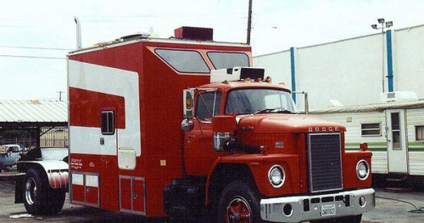 1974 Dodge Semi Truck Refrigerator Tool Box  Magnet