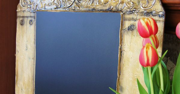 The Barcelona Chalkboard - Rustic Old World Style Chalkboards. $ 100.00, via