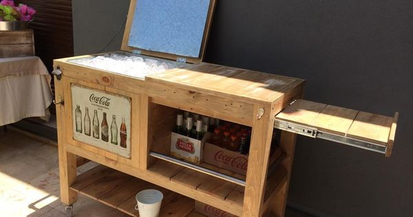 Now this is a nice cooler repurposed