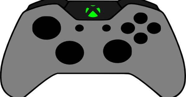 Crafting with Meek: Xbox One Remote Controller Template ...Xbox Controller Silhouette Image Cricut