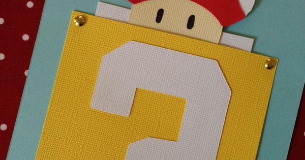 10 Super Mario Bros. Invitations
