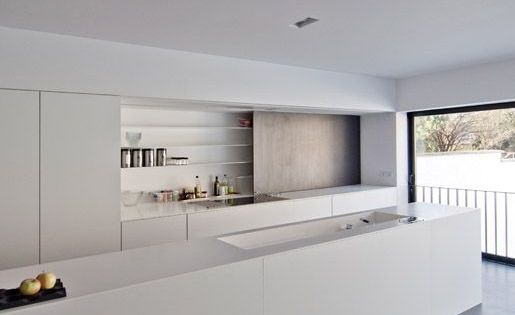 37 Functional Minimalist Kitchen Design Ideas Digsdigs Kitchen Pinterest Minimalist