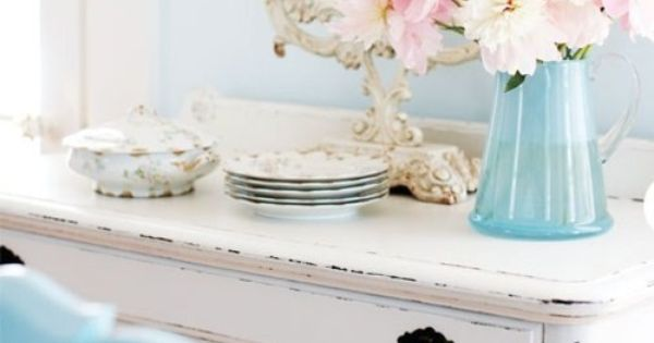 shabby chic writing desk