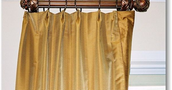 Blind Alley Formal Window Treatments Portfolio Short Curtain