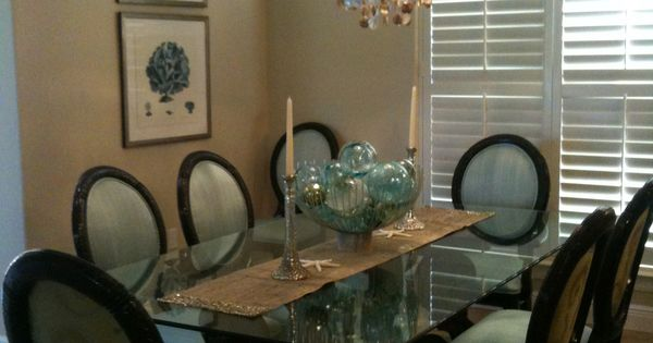 Dining Room Remodel By Lindsay Miller Of Lovelace Interiors In Destin Florida Home