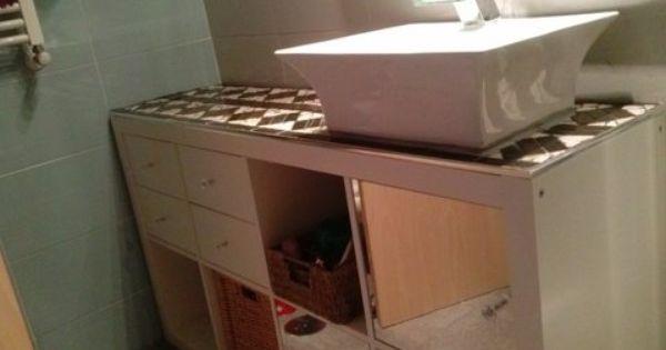 Un Bano Renovado Con Expedit Estanteria Ikea Banos Ikea