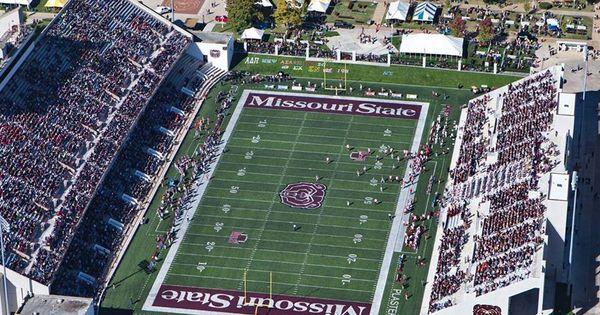 Kansas City Colleges >> Plaster Stadium, Missouri State University. | College ...