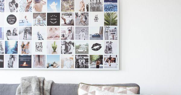 Instawall panorama aluminium wit jouw eigen kunstwerk decoratie pinterest muur - Decoratie van trappenhuis ...