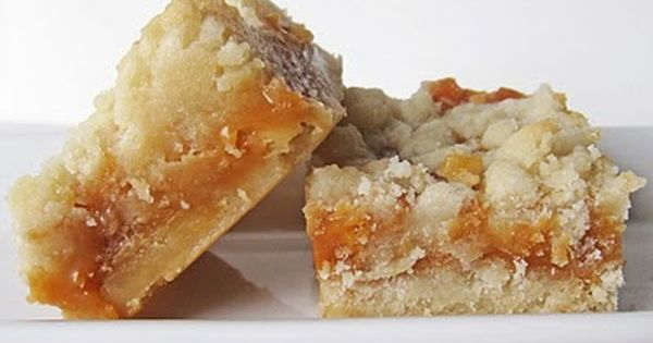 Salted Caramel Butter Bars - A teacher at our school made these