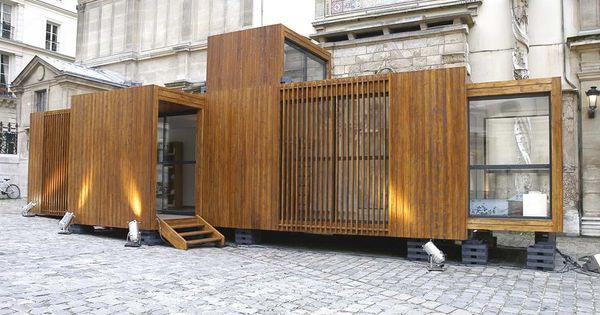 architecture modulaire maison en bois beaux arts. Black Bedroom Furniture Sets. Home Design Ideas