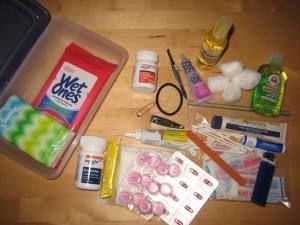 Diy First Aid Kit Diy First Aid Kit Toddler Travel First Aid Kit