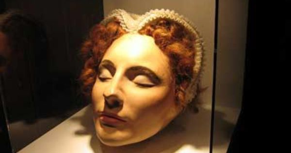 Mary Queen Of Scots Death Mask 435 years ago today on...