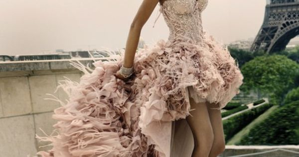 Paris! Is it wrong that I want this as my wedding dress